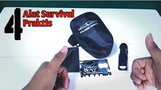 4 Alat Survival / Camping Yang Bisa Masuk Kantong
