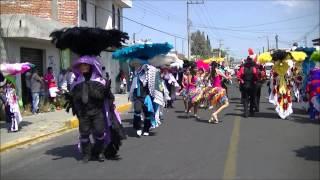 Carnaval Papalotla Tlaxcala 2015 el barrio de El Carmen(la quinta)