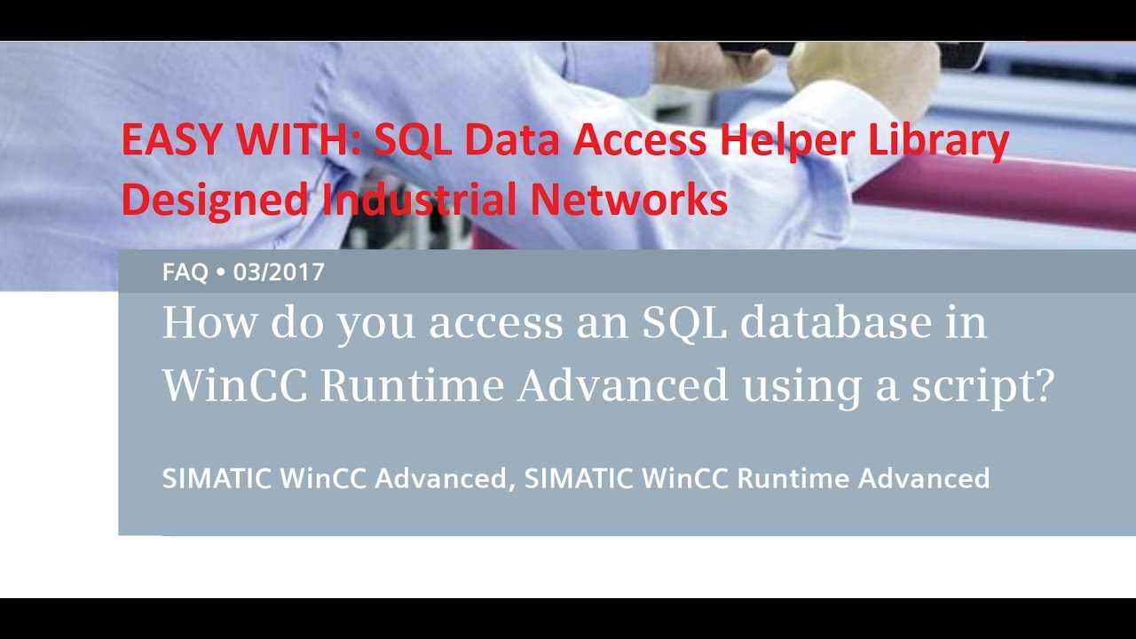 fix error WINCC SQL instance is either not running or not