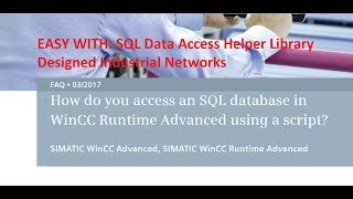 How do you access an SQL Server in WinCC Professional V15 via the MS OLE DB provider?
