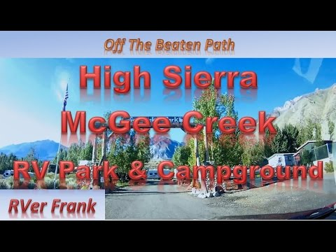 370 McGee Creek RV Park Campground RVer Frank