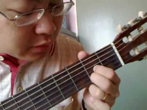 Made me glad guitar technique by colin chong 张志宽(part 1 of 2)