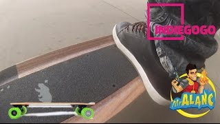 Acton Blink S Electric Skateboard Hat Backpack First Outdoor Ride IndieGogo Backer $85 Promo Code