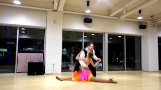 Salsa Dance Performance - Absolute Ballroom April1, 2012. - Iulia & Don