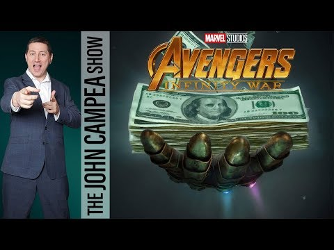 Avengers Infinity War Breaks All Time Box Office Record - The John Campea Show