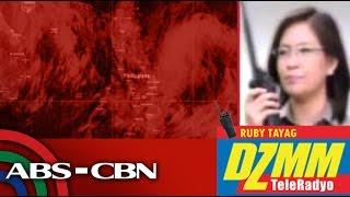 DZMM TeleRadyo: Typhoon to enter PAR Thursday