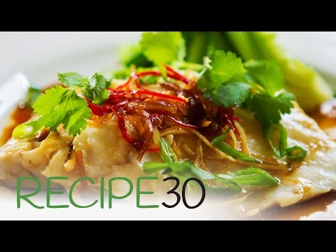 Asian Style Steamed Fish Made In 10 Minutes