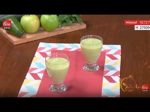 c2524b75c شهيوة:عصير التفاح و الخيار - تيلي ماروك