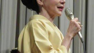 女優岩下志麻(78)が20日、東京・新文芸坐で、女優デビュー60周年を記...