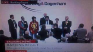 Margaret Hodge smashes Griffin (BNP) in Barking and tells them: Get out and stay out