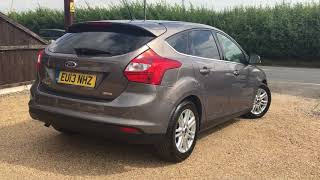 2013 FORD FOCUS 1.0 TITANIUM FOR SALE | CAR REVIEW VLOG