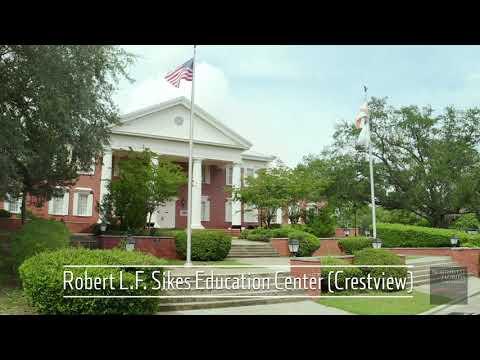 Northwest Florida State College Aerial Tour