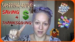 Shopping Guide: Top 5 Ways to Save Money For Thanksgiving | Just Dez
