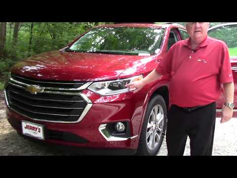 2018 Traverse Test Drive at Jerry's Chevrolet near Baltimore, MD 21234