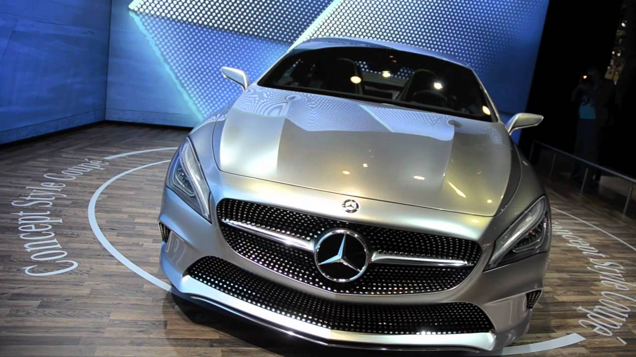 mercedes benz concept style coup cla studie ami leipzig 2012 youtube. Black Bedroom Furniture Sets. Home Design Ideas