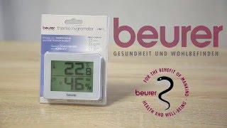 Термогигрометр BEURER (Бойрер) HM 16 Обзор.
