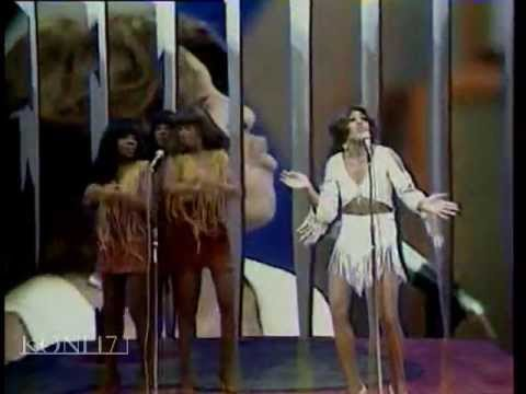 Ike and Tina Turner on French TV 1971