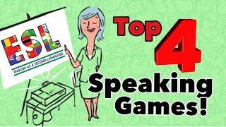 Top Speaking Games/ Activities For Kids & Adults! Esl