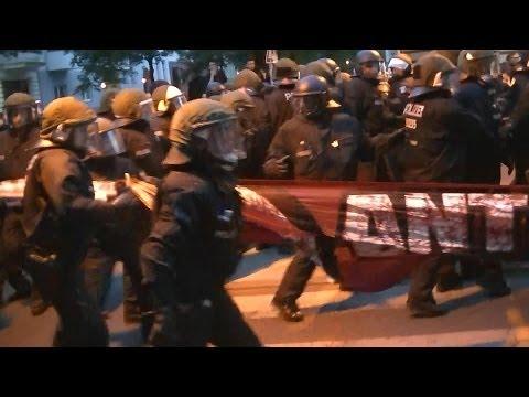 1. Mai 2014 Berlin Kreuzberg Revolutionäre 18 Uhr Demo -            Riot Press