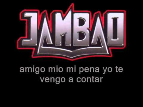 Jambao - consejo (letra)