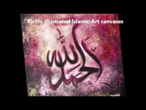 Muslim art and islamic calligraphy youtube