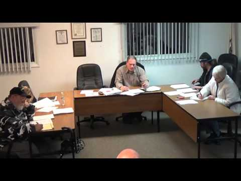 2/1/16 Village of Holiday Hills Board Meeting pt 1