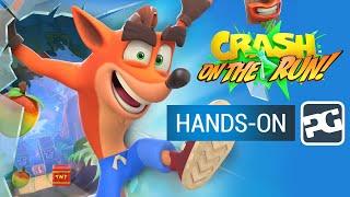 CRASH BANDICOOT: ON THE RUN - iPhone, iPad, Android   Gameplay