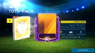 How I got Messi on the last day of Totw - How to get Totw points -  lucky timing in FIFA Mobile 19