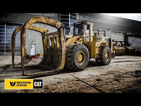 Cat® Certified Rebuild | 988F Log Loader