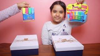 تحدي صندوق الغامض بأغراض المدرسة الجزء 2 !! Mystery Box of Back to School Switch-Up Challenge!