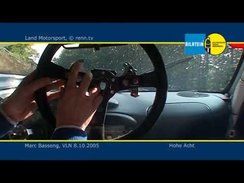 VLN 2005 - Land Motosport - Porsche 996 GT3 RSR - Marc Basseng - Unfall Onboard