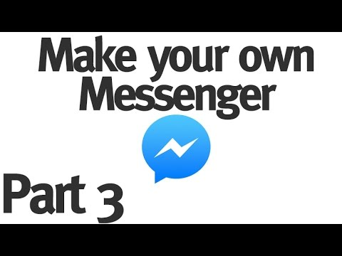 Make your Own Instant Messenger - Part 3 - Sending Messages