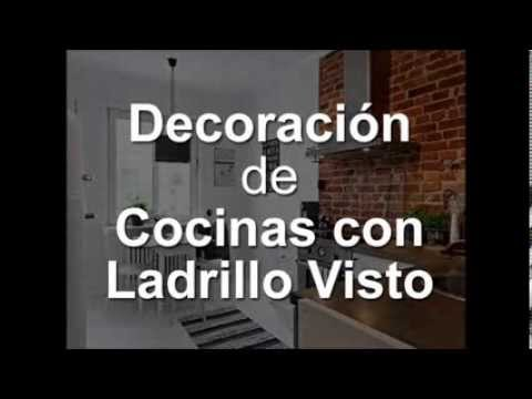 Decoracion de cocinas con ladrillo visto youtube for Decoracion ladrillo visto