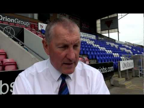 Terry Butcher Interview : ICT v Coventry City : 21st July 2012