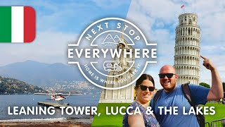 Leaning Tower, Lucca & The Lakes - Our Italian Adventure Comes To An End | Next Stop Everywhere