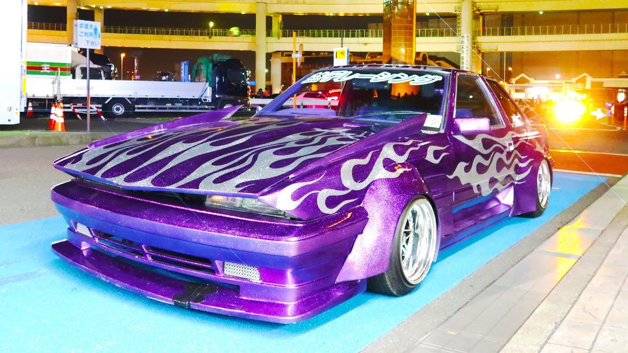 BOSOZOKU AT JAPANESE CAR MEET! - YouTube