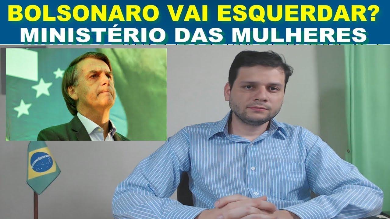 Bolsonaro e o Ministério das Mulheres - Ministério do Trabalho extinto