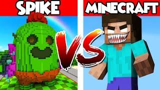 Spike vs Minecraft – PvZ vs Minecraft vs Smash
