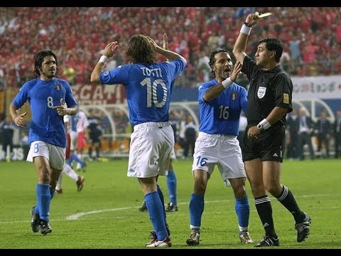 Italy vs South Korea 1-2 FIFA World Cup 2002