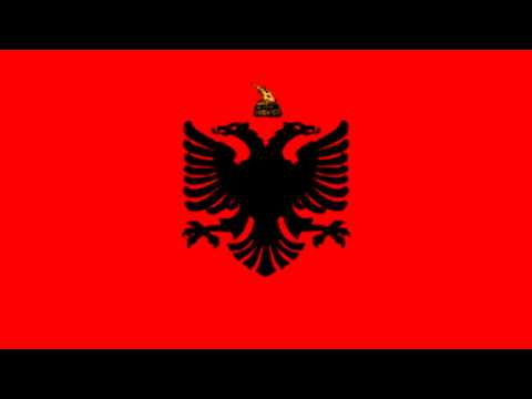 Bandera del Reino de Albania (1934-39) - Flag of the Kingdom of Albania (1934-39)