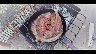 Жареный карась (Хочу пожрать) Fried crucian