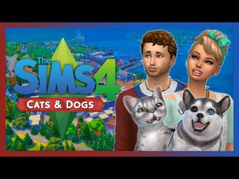 Sims 4 Cats and Dogs - Part 25 - LAUNDRY ROOM!