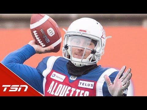 JOHNNY MANZIEL FULL HIGHLIGHTS FROM FIRST CFL WIN vs Toronto