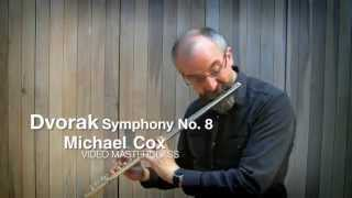 dvorak symphony no 8 demonstrated by michael cox