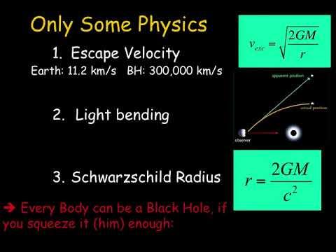 black holes lectures - photo #13