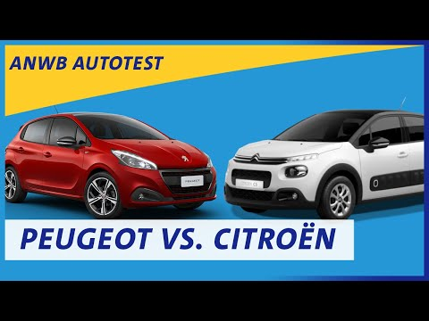 Peugeot 208 Versus Citroën C3 Review   ANWB Autotest 🚗🚙