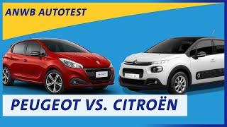 ANWB test Peugeot 208 versus Citroën C3