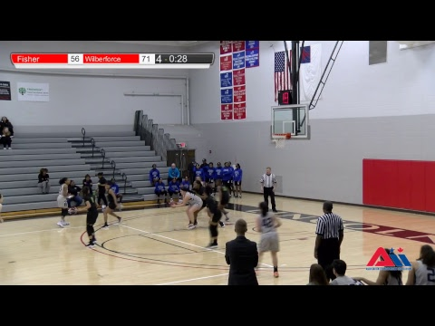 Women's Basketball AII Conference (Fisher College vs Wilberforce University)