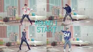 EXO -  SKT LTE ads (EXO vs EXO) Dance Battle Round 1-Kai Chanyeol Tao Chen [HD]