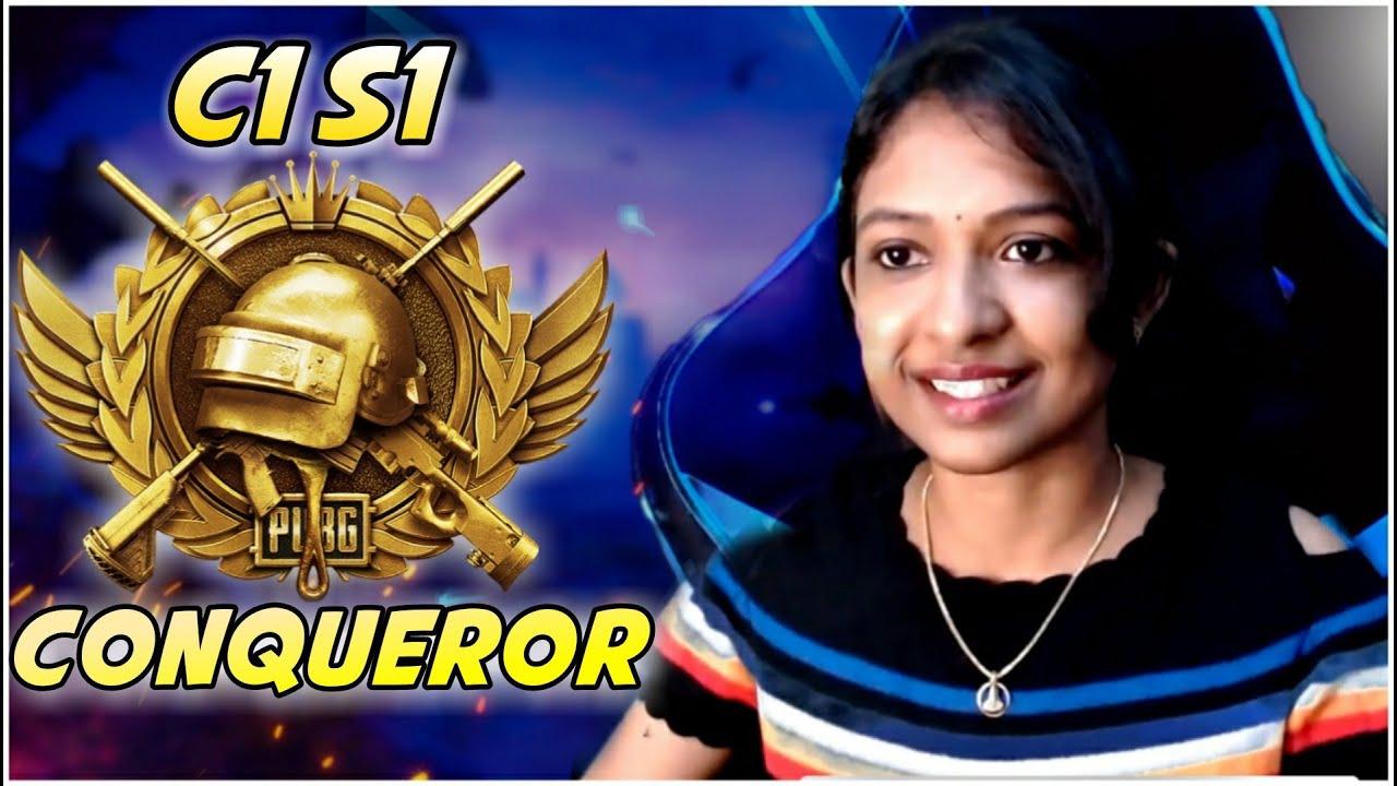 🛑 C1 S1 Conqueror || Wildcat Gaming || Girl Gamer || Telugupubglive